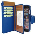 Piel Frama iPhone 6 Plus / 6S Plus Piel Frama iMAGNUM Pung Læder Taske - Blå