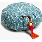 Chattra Zafu Meditation Cushion - Sky Feather