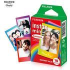 LEADBIKE Fujifilm Instax Mini 10 Blatt Bunter Regenbogen-Film-Fotopapier Snapshot Album-Sofortbild für Fujifilm Instax Mini-7s / 8/25/90