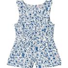 Frill Jumpsuit Blue Ditsy Floral5 years