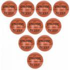 10 stk Spalding TF 250 In/Outdoor Basketbolde str.6