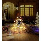 Utomhus LED-julgran Polarlite 634C3 med timer Varmvit, Neutralvit LED Vit
