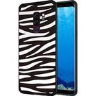 NXE Fashion Samsung Galaxy S9+ TPU Cover - Zebra