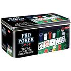 Tactic Texas Hold´em Pro Poker in Tin