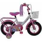 "Pigecykel Disney Princess 12"" Pink/Hvid"