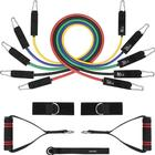 Weight Exercise Tools Fitness Workout Anti-Snap Resistance Band Set
