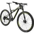 Cannondale Scalpel-Si Carbon 2 Jet Black with Neon Spring and Berzerker Green, Gloss