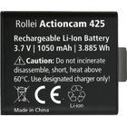 Rollei Akku AC425/426/430 - Ersatzakku für die Rollei Actioncams 425, 426 und 430 - Lithium-Ionen-Ak