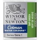 Winsor & Newton Cotman Water Colours Green Half Pan