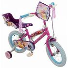 Disney Princess 14 Inch Bike, Blue,Pink,Purple