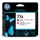 HP (P2V97A) Original Printhead Red, Matte Black