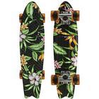 Globe Bantam Board St23 - Paradise - One Size Black/Flowers