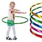 Hoopomania Super Star Band Children's Hula Hoop, multi-coloured