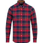Barbour Lifestyle Endsleigh Highland Check Brushed Flannel Shirt Red