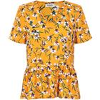 SOAKED IN LUXURY LULU TOP 30403126 C (Cadmium Yellow 46017, XS)