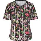 Tropical jersey print t-shirt