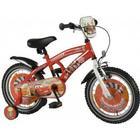 """Børnecykel Disney Cars 16"""" Rød"""