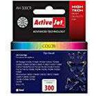 Activejet AH-300CR 9 ml Replacement for HP Inkjet Cartridge - Black