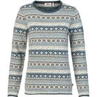 Fjällräven Ovik Folk Knit Sweater - Frost Green