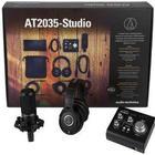Audio Technica AT2035-Studio Essential Studio Kit Mikrofon/Interface/KopfhÃrer