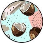 Popmount svart - coconut crash