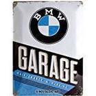 BMW Motorcycle Cover Service Repair Car Mechanic 3D Metal/Steel Wall Sign, 40 x 30 cm