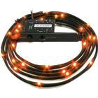 NZXT Sleeved LED Kit Cable - 1M - Orange