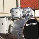 "Ludwig Element Evolution 22""-set - Silver/White Sparkle"