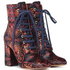 Exclusive to Mytheresa â Paisley velvet ankle boots