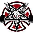 Independent X Thrasher Pentagram Cross Large Single Sticker