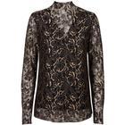 Black Lily-Rebil blouse i black...-