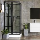 Duschkabin Bathlife BETRAKTA 90x90 Rak R/W Klarglas - 90x90 Klarglas