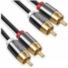 DELEYCON Phono Kabel Mk2 1,00m