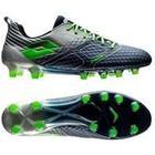 Lotto Maestro 200 FG - Blå/Grøn/Sølv Fodboldstøvler tilbud / udsalg