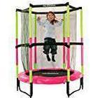 Hudora Safety Trampoline Jump in 140, Pink