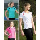 Precision Ladies S/Sleeve Running Shirt Junior