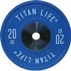 TITAN LIFE Elite Bumper Plates 20 kg...