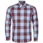 Barbour M's Jeff Shirt Tailored Fit Red