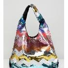 Accessorize rainbow sequin grab bag