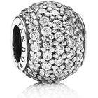 Pandora Pavé Ball Silver Charm w. Cubic Zirconia (791051CZ)