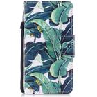 iPhone X / XS Cross Texture Leather Cover m. Pung Leaf Pattern