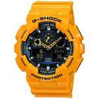 gul resin med stål G-Shock (5081) multifunktions quartz Herre ur fra Casio