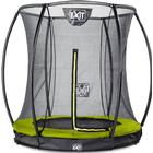 Exit Silhouette Ground Trampoline with Safety Net 273cm