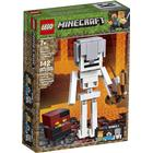 Lego Minecraft Skeleton BigFig with Magma Cube 21150