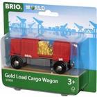 Brio Gold Load Cargo Wagon 33938