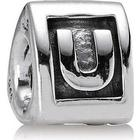 Pandora U Silver Charm (790323U)