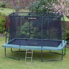 Jumping trampolin med net - Rektangulær - 366 x 244 cm
