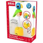Brio Play & Learn Record & Play Parrot 30262