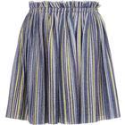 Name It Kid's Glittery Plisse Skirt - Blue/Dark Sapphire (13169629)