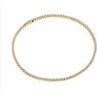 Sif Jakobs Ellera Gold Plated Silver Earrings w. White Zirconia (SJ-B2869-CZ(YG))